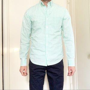 Bonobos Slim Lightweight Cotton Shirt Size Small